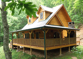 Superbe A Cozy One Bedroom Log Cabin On Nantahala Mountain U2014 Honeymoon Cabin With A  Mountain View