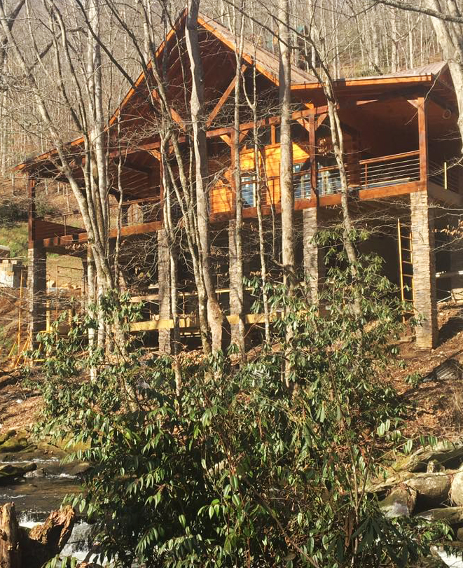 cabins mountain riverlodge rentals cherokee luxury cabin new rental exciting nc nantahala has and something
