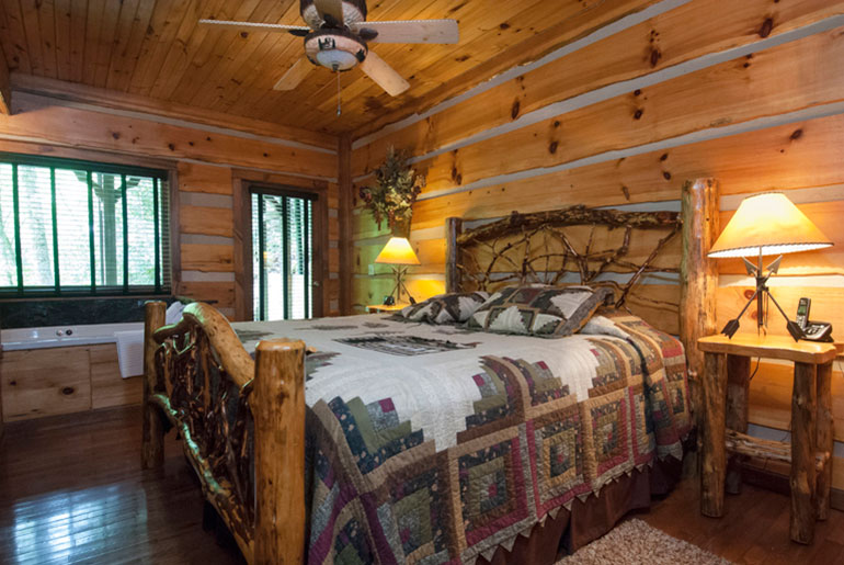 A romantic getaway cabin with hot tub and luxurious - 4 bedroom cabins in north carolina ...